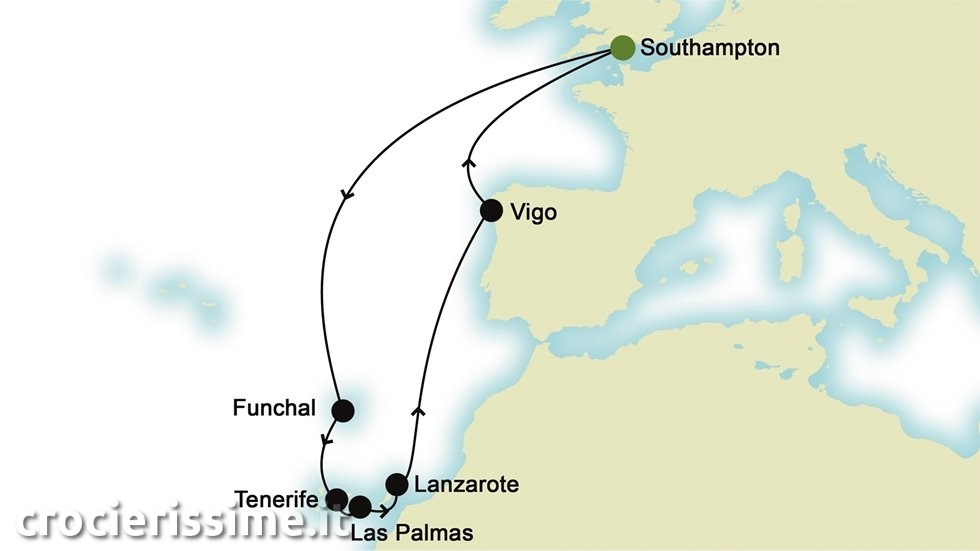 ATLANTICO da Southampton