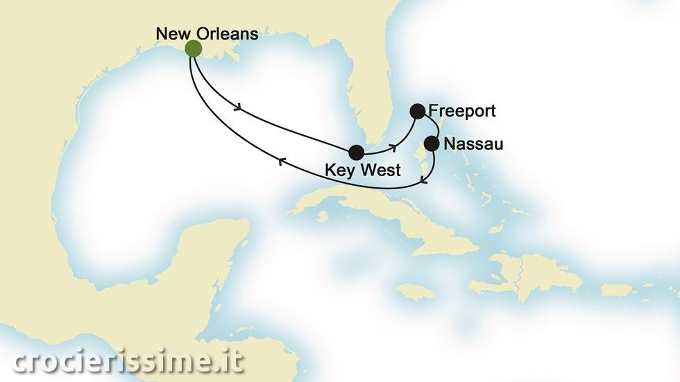 BAHAMAS da New Orleans