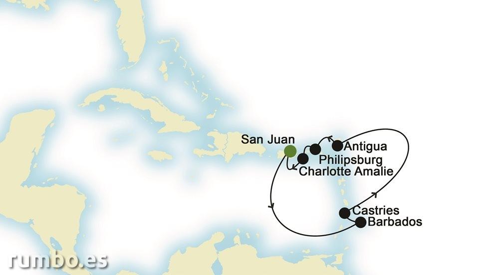 CARIBE desde San Juan