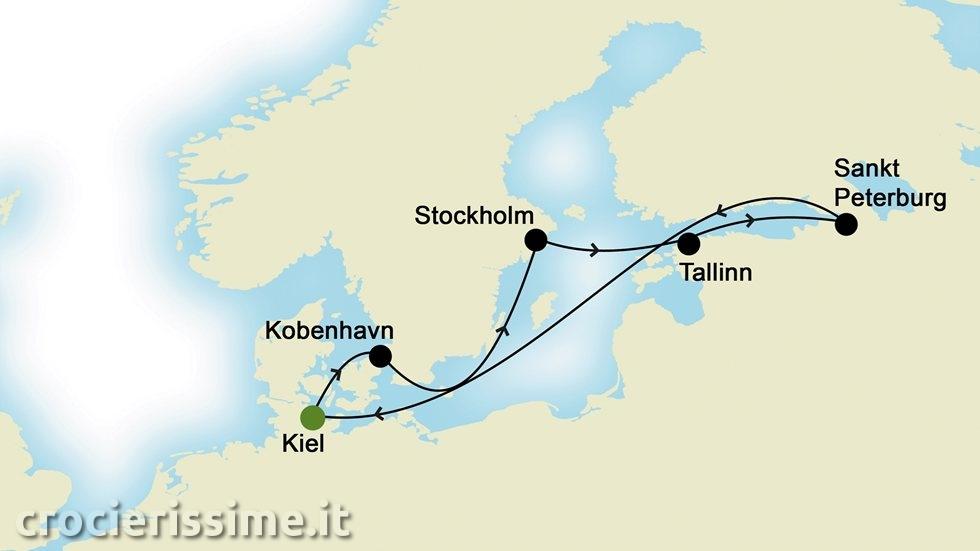 CAPITALI BALTICHE da Kiel