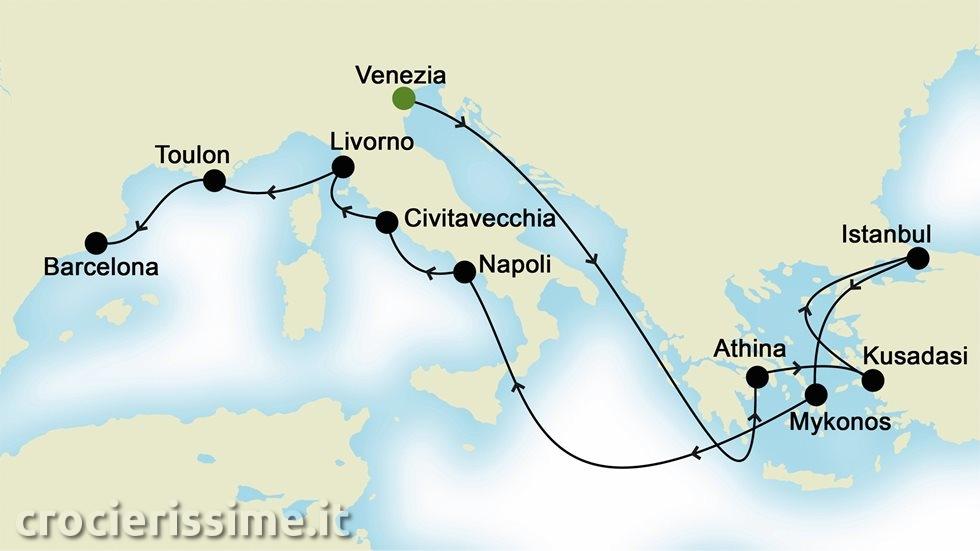 MEDITERRANEO da Venezia