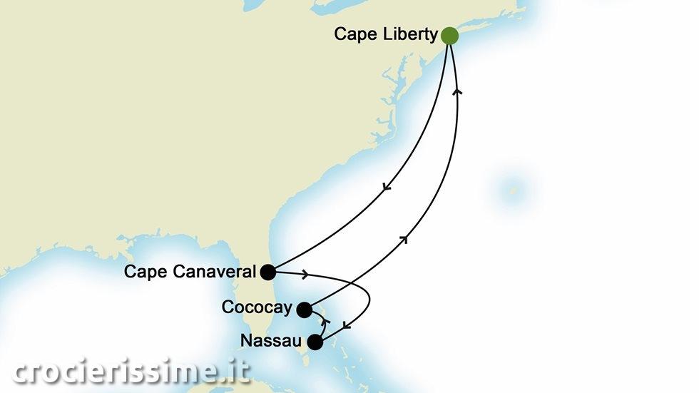 CARAIBI da Cape Liberty
