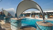 Zona de piscinas Acapulco