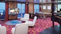 Deluxe owner's suite con balcón grande