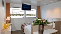 Pont Principal cabine double 2 lits separables