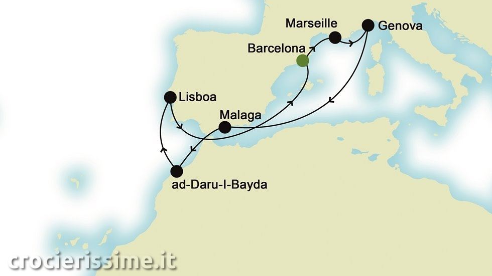MEDITERRANEO da Barcellona