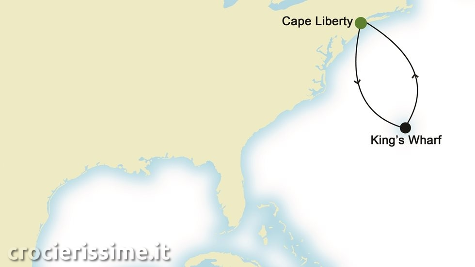 NORD AMERICA da Cape Liberty