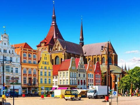 Croisière de Rostock au Portugal