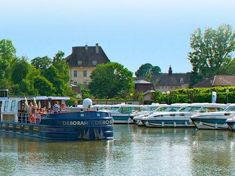 Croisière sur les canaux de la Loire